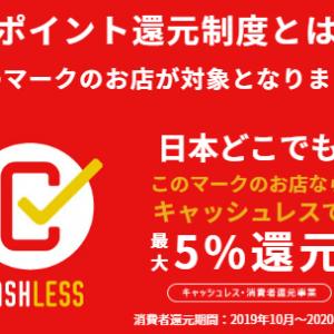 キャッシュレス・ポイント還元事業を解説【キャッシュレス初心者向け!!】増税以上に得する政府主導のキャンペーンです!