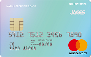 MATSUI SECURITIES CARD